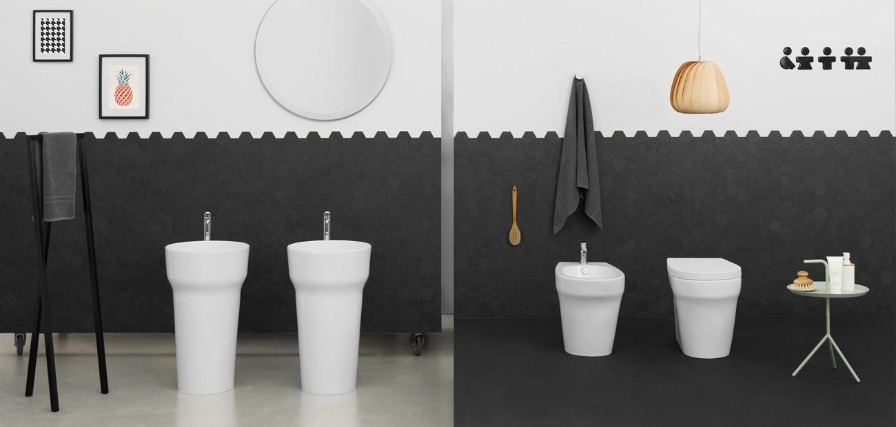Lavabi e sanitari in ceramica pop - Arredo bagno civita castellana ...