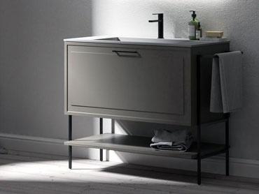 In esposizione nel nostro showroom i mobili da bagno della puntotre - Mobili esposizione ...