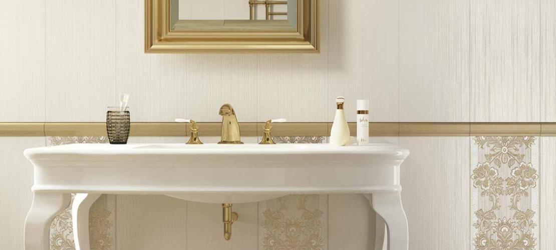 Rivestimenti classici per il bagno wallpaper - Mobili casabella srl ...