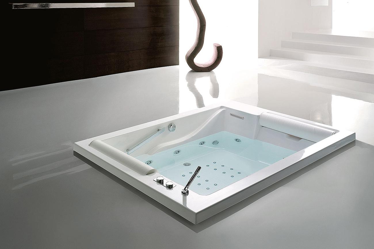 Vasca idromassaggio ad incasso o da appoggio bis - Vasche da bagno ad incasso ...
