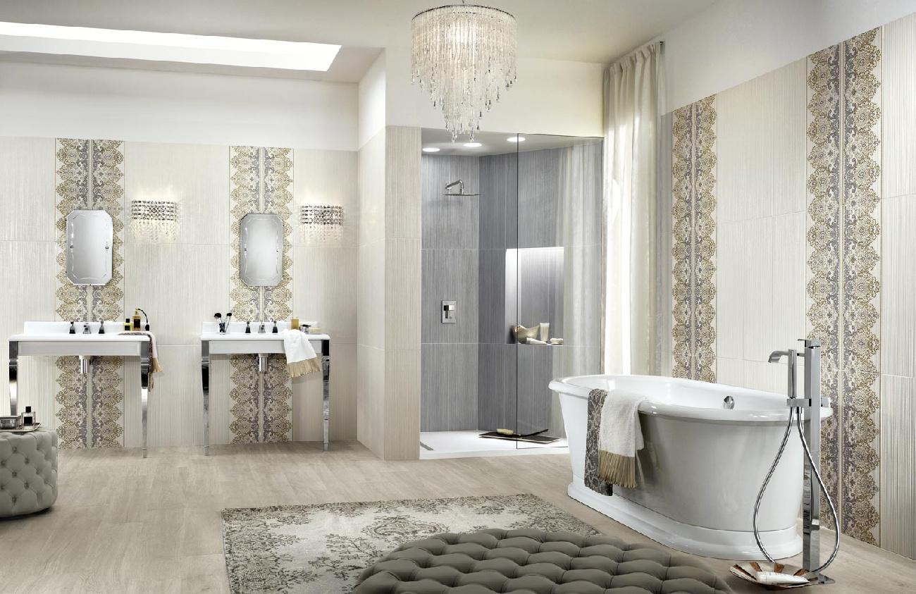 rivestimenti classici per il bagno wallpaper. Black Bedroom Furniture Sets. Home Design Ideas