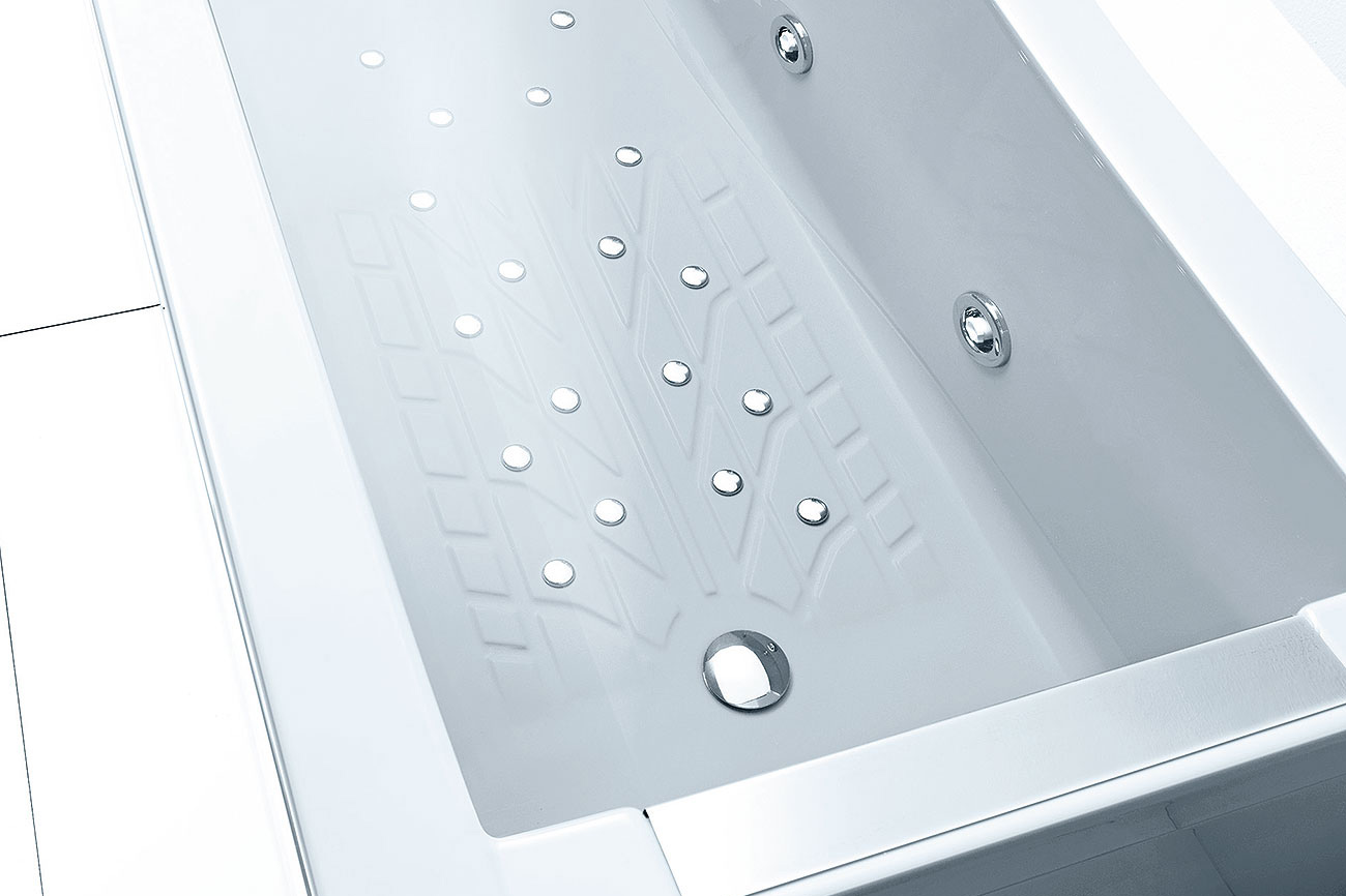 Vasca da bagno con idromassaggio spider - Bordo vasca da bagno ...